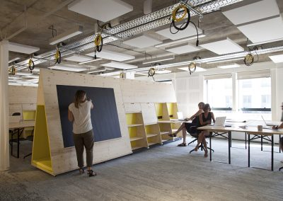 Coworking modulable
